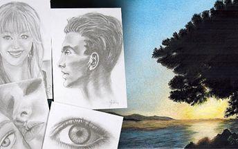 Kurz KRESLENÍ pravou mozkovou hemisférou TUŽKOU nebo PASTELEM již od 990 Kč! Kreslení podobně jako psaní je dovednost, které je možno se naučit! Využijte slevy 49% a navštivte náš kurz, kreslit portréty budete již ZA DVA DNY!