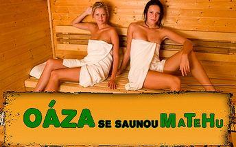 Celé dvě hodiny SOUKROMÉ sauny a vířivé vany za pouhých 399 Kč! Užijte si naplno dokonalý relax v soukromí OÁZY se saunou MaTeHu v centru Plzně. Ve vířivce pro každého vždy nová čistá voda!