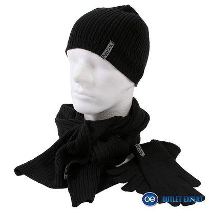 Pánská čepice, šála + rukavice Reebok