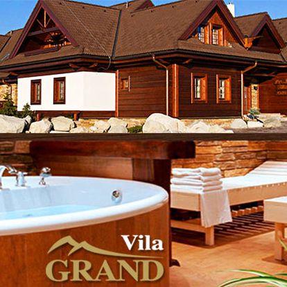 4 dny v tatranské apartmánové rezidenci Vila Grand