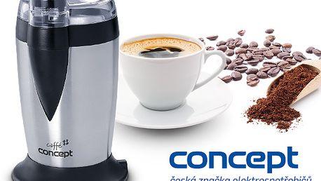 Elektrický mlýnek na kávu značky Concept