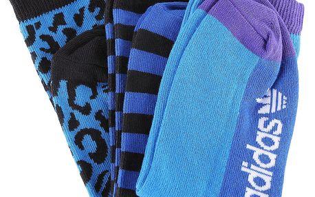 Tři páry dívčích ponožek Adidas Originals