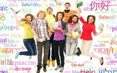 Angličtina, němčina, španělština, ruština nebo čeština pro cizince