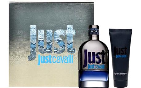 Toaletní voda Roberto Cavalli Just Cavalli for Him Edt 90ml + 75ml sprchový gel