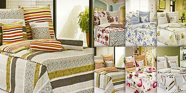 Kvalitní 8dílné povlečení: neblednoucí barvy, výběr z 8 elegantních vzorů