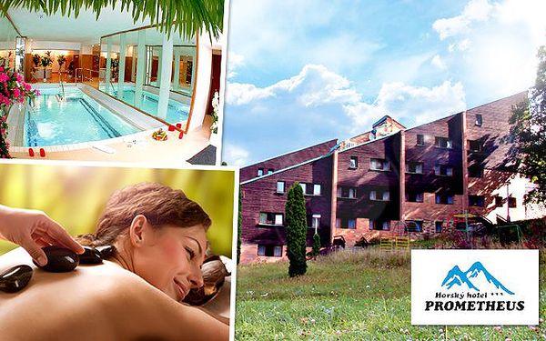 3denní Wellness & Spa pobyt v hotelu Prometheus v Jeseníkách pro 2