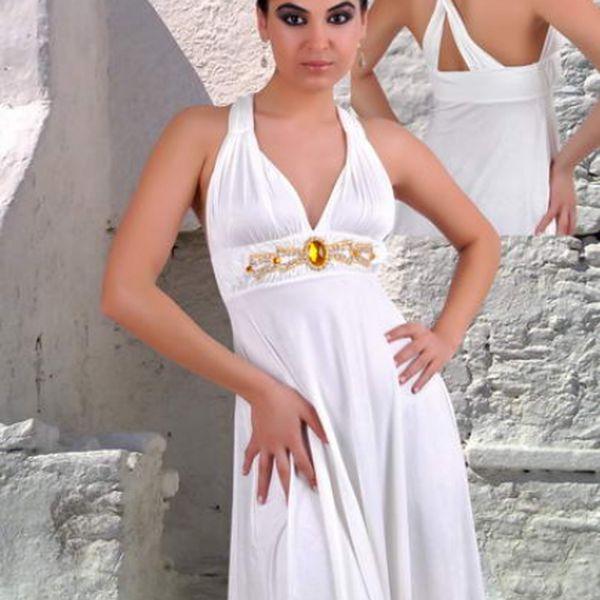 Letní šaty tyrkysové - SERAPINI - perfektí pro každou příležitost