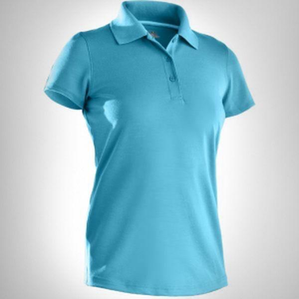 Dámské tričko s límečkem Under Armour HG SS Core Solid Polo Wom