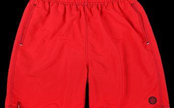 SAM 73 Pánské šortky MSA 149 135 - červená
