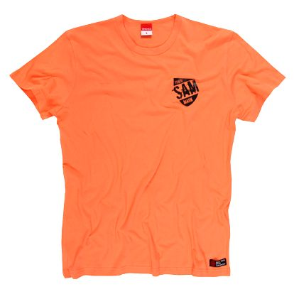 SAM 73 Pánské triko MTA 344 170 - oranžová jasná