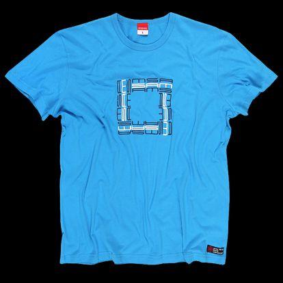SAM 73 Pánské triko MTA 338 220 - modrá jasná