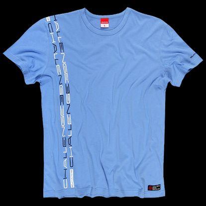 SAM 73 Pánské triko MTA 341 215 - modrá světlá