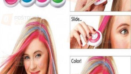 Křídy na obarvení vlasů - 4 ks a poštovné ZDARMA s dodáním do 3 dnů! - 14208712