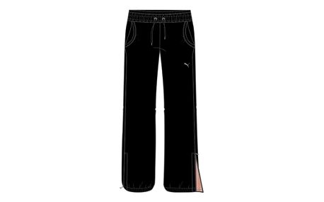 Fitness tepláky puma tp woven pants