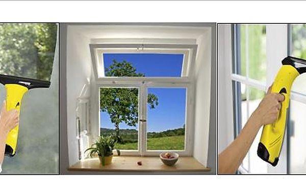 Oboustranné mytí oken včetně rámů a parapetů