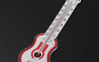 Teploměr ve tvaru kytary a poštovné ZDARMA! - 9008666