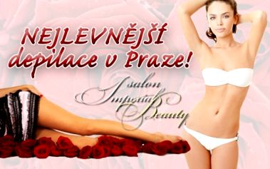 DEPILACE CUKROVOU PASTOU či TEPLÝM VOSKEM na partie dle vašeho vlastního výběru v Salonu Imperial Beauty přímo v centru Prahy na ul. Hybernská u stanice metra Nám. Republiky!!!