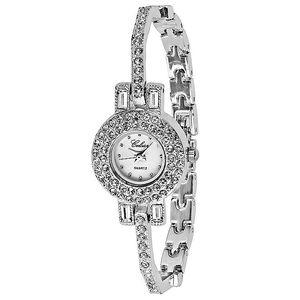 Dámské stříbrné hodinky s kamínky Swarovski Elements od Art de France