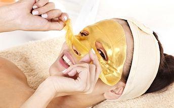 Darujte LUXUS! Kompletní kosmetická péče – ošetření ultrazvukovou špachtlí, zapracování kolagenového séra i aplikace oživující ZLATÉ masky za úžasných 499 Kč!