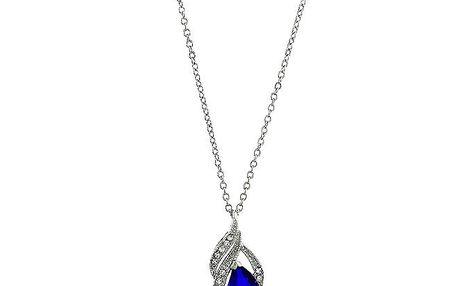 Dámský náhrdelník s modrou kapkou Art de France