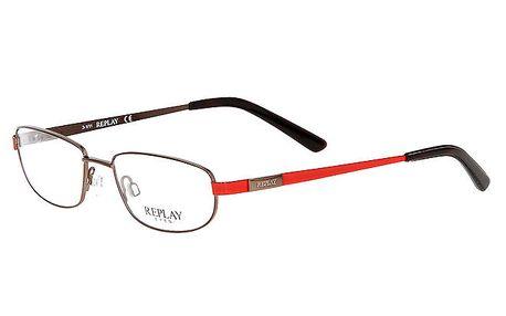 Pánské brýle s červenými stranicemi Replay