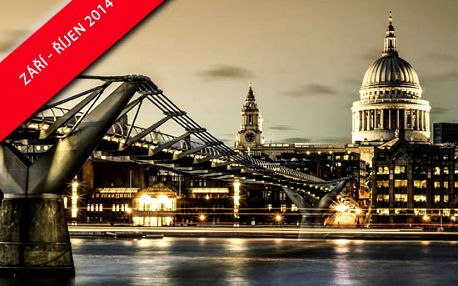 Užijte si s Pelikan.cz 4denní prodloužený víkend v Londýně v hotelu ibis London Budget Hounslow se snídaní!