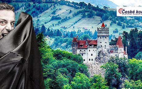 Zájezd do Rumunska po stopách hraběte Drákuly