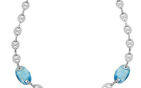 Dámský náhrdelník s modrými kapkami Art de France