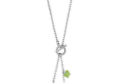 Dámský náhrdelník s kytičkou a motýlky Art de France
