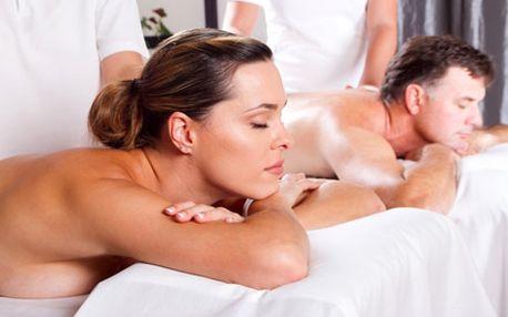 Jarní antistresová očistná masáž celého těla pro 2...
