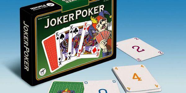JOKER POKER - zahrajte si oblíbenou hru i doma!