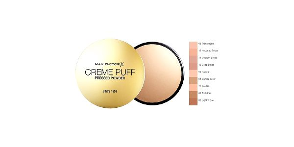 MF Creme Puff 75 Golden, pudr