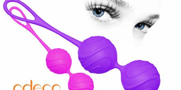 Venušiny kuličky Odeco, model 2014, těžší kuličky, lékařský silikon.