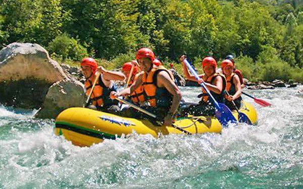 Akční třídenní rafting v Nízkých Tatrách