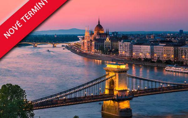 Pelikan.cz přináší 3denní pobyt v Budapešti v hotelu Baross City Hotel*** se snídaní