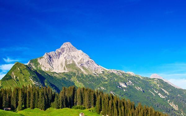 Rakouské Alpy pro DVA na 3 dny včetně snídaně