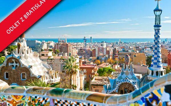 Letecky, 4 denní pobyt v Barceloně ve 4* hotelu Solvasa