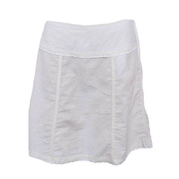 Dámská krátká bílá sukně Timeout