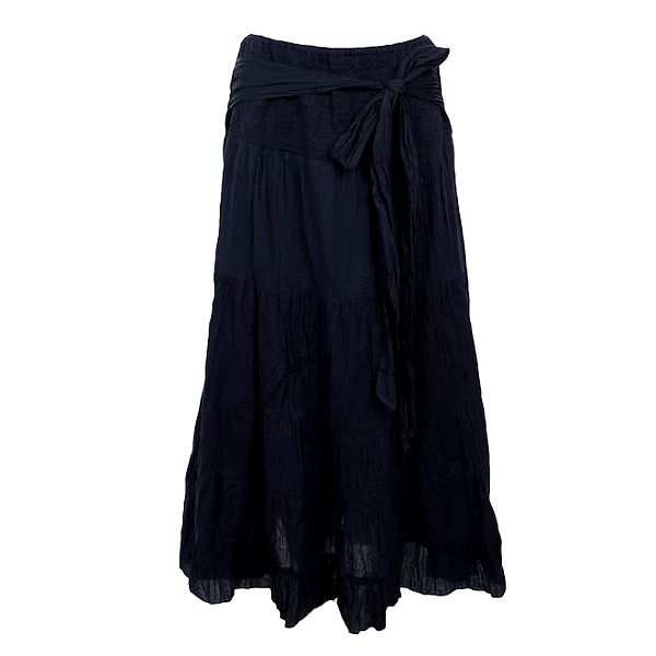 Dámská dlouhá tmavě modrá sukně Timeout