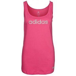 Dámské tílko - Adidas GLAM TANK růžová
