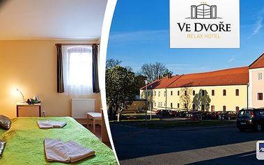 Chcete prožít romantickou noc nebo pořádně zrelaxovat a užít si Plzeňsko dosyta? V relax hotelu Ve Dvoře se postarají o vaše přání - polopenze, welcome drink, wellness a další bonusy!!