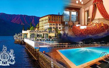 All-inclusive dovolená v Itálii přímo u jezera Com