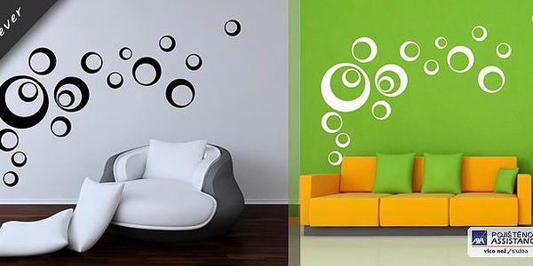 Samolepky na stěnu Bubliny bolia - moderní dekorace vašeho bytu či kanceláře za skvělou cenu!! Vypadají opravdu úžasně!!