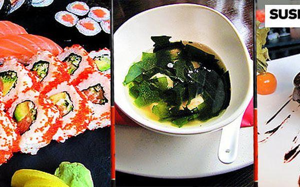 Polévky, předkrmy a sushi v Sushi Point Black Label