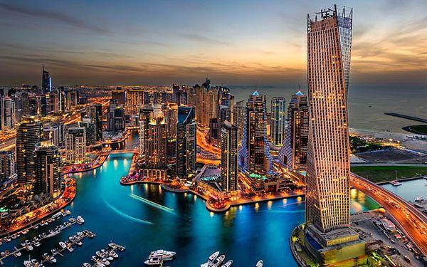 Letecky na 8 dní do světa luxusu a bohatství. Dubaj, 4* hotel Al Manar se snídaní