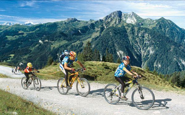 Pobyt v rakouských Alpách na 4 dny s polopenzí v St. Johann im Pongau v Salcbursku. Dítě do 15 let ZDARMA. Termíny 1.5.-30.9.2014.