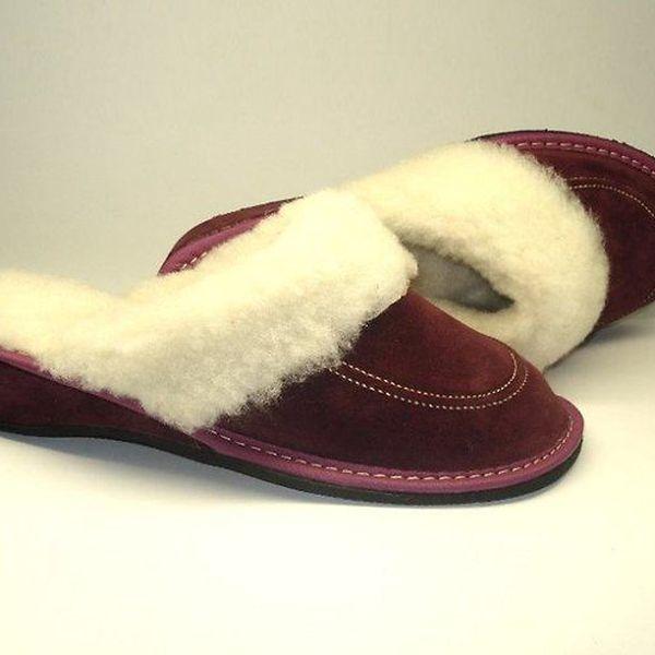"""Dámské pantofle """"purpurový sen"""" s podpatkem (37)"""