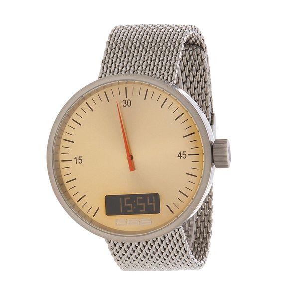 Pánské hodinky Mesh Under Pressure Gold