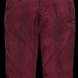 Dámské 3/4 kalhoty růžové tmavé