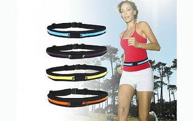 Originální a jednoduché řešení pro všechny sportovce! Pásek pro sportovce s kapsami na zip. Pohodlně si tak při sportování uložíte telefon, klíče nebo peněženku. Doručení zdarma!